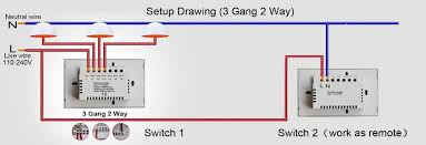 aliexpress com universal touch switch wiring diagram us 3 gang 2 way