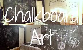 Chalkboard Wall Art/ Bedroom Decor   YouTube