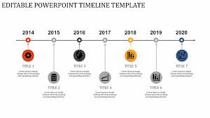 Timeline Photo Template Timeline Powerpoint Template With Sequence