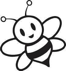Bijtje 2 Silhouettes Scanncut Bijen Bijen Houden En Kleurplaten