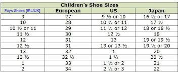 Shoe Size Conversion Chart Us To Uk European Shoe Size Chart Converter European Shoe Size