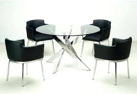 modern round table fabulous high dining table set modern round dining tables sets modern round glass