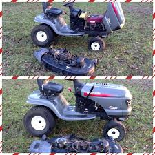 used craftsman lawn mower. used craftsman lt2000 performance series riding lawn mower 18 hp. must pickup. a