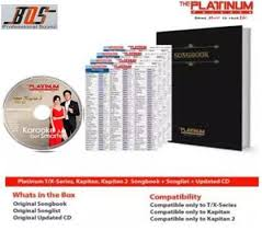 Cd Song List Platinum Reyna 3 Songbook Songlist Updated Cd As Of Dec 2018