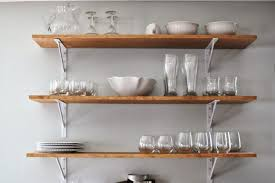 wall mounted kitchen shelves uk india stylish design natural wooden open  cabinets online