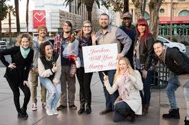 A Mo Bb Flash Mob Proposal Las Vegas Proposal Idea
