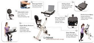 fitdesk fdx 2 0 desk exercise bike benefits