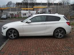 bmw 2013 white. bmw 1 series 116i sport 3 door alpine white automatic 2013 bmw