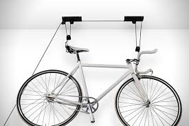 Wall bicycle mount Home Racor Bike Lift Hiconsumption Wall Mount The 12 Best Indoor Bike Racks Hiconsumption