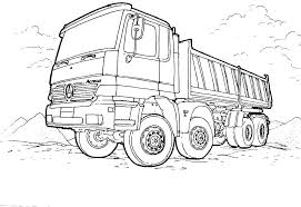 Trash Truck Coloring Pages Dump Truck Coloring Pages Truck Coloring