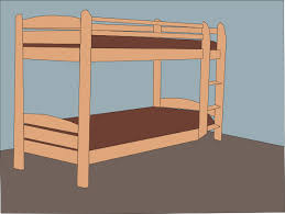 Double Bed Clip Art at Clkercom vector clip art online royalty
