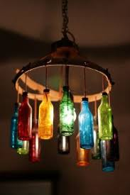 Still with us? bottle lamp shade