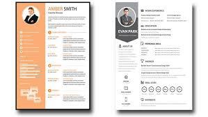 Editable Resume Template Amazing Free Editable Resume Templates Commily