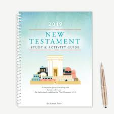 New Testament Reading Chart 2019 2019 New Testament Study Activity Guide Spiral Bound Book