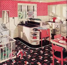 vintage pink polka dot kitchen from 1936 armstrong kitchen