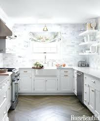 Backsplash For White Kitchens Transparentseaco