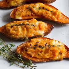baked sweet potato recipes. TwiceBaked Sweet Potatoes For Baked Potato Recipes
