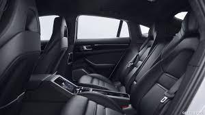 porsche panamera black interior. 2017 porsche panamera 4 ehybrid interior rear seats wallpaper black