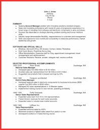 Quick Write Template Good Resume Format