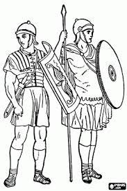 Infanterie Soldaten Van De Romeinse Rijk Leger De Legionairs
