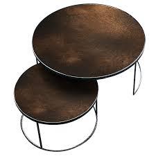 nesting coffee table set