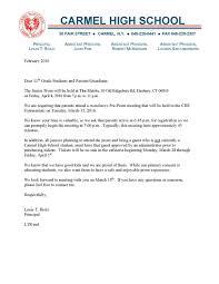 Parent Meeting Letter - Kleo.beachfix.co