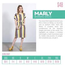 Size Chart For Lularoe Lularoe Launches New Style Marly Direct Sales Party Plan