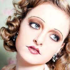 flapper vire look with tutorial bows and curtseys mad about makeup