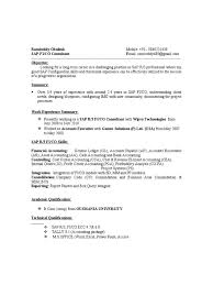 Free Download Resume Best Of Training Consultant Resume Sample Formidable Sap Fico Resumes Pdfer