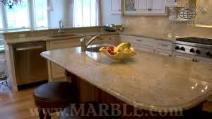 Kashmir Gold Granite Kitchen Kashmir Gold Granite Kitchen Countertops By Marblecom Youtube