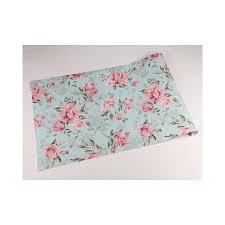 A partir de agora você vai conferir ideias para decorar a sua sala de estar com o azul tiffany. Papel De Parede Floral Rosas E Azul