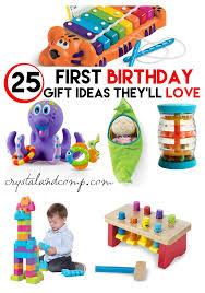 25 first birthday gift ideas