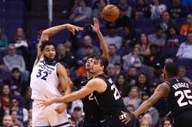 Phoenix Suns Depth Chart Suns 125 Wolves 109 Ghosts Of Timberwolves Past Canis Hoopus