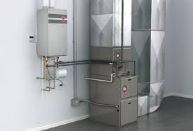 carrier high efficiency furnace. a tankless water heater supplying hydronic air handler carrier high efficiency furnace