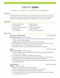 Accountant Resume Examples Fresh Resume Objective Examples Business