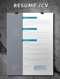 Cool Free Resume Templates 100 Best Free Indesign Resume Templates Updated 100 89