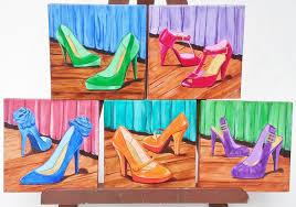 high heel shoes women birthday gift teens room fashion within high heel wall art