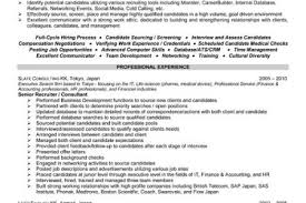 recruiter resume sample free of charge review resume writing sample bilingual consultant resume