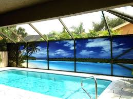 pool above ground screen round domes privacy ideas one way decorative patio pictures to pin deck