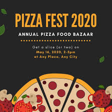 Pizza Party Invitation Templates Yellow And Black Illustrated Pizza Party Invitation Templates By Canva