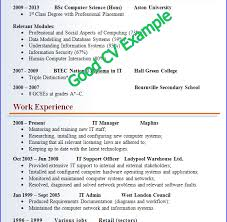 Customer Service CV Sample Skills Based CV