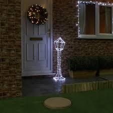 christmas rope lighting. outdoor plug in white lamp post rope light christmas decoration flash bulbs leds lighting