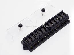 aliexpress com buy 12 way circuit blade fuse box holder 12v 24 v aliexpress com buy 12 way circuit blade fuse box holder 12v 24 v universal 10 motor home car 12pcs fuse from reliable car roof luggage box