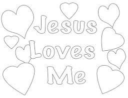 Jesus Loves Me Coloring Pages Printables 20335 Octaviopazorg