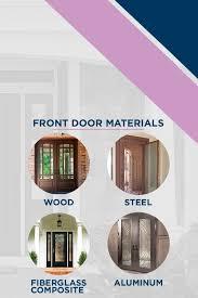 consider replacing your front door
