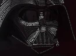 Darth Vader Quotes Interesting Darth Vader Typography Art Using His Own Movie Quotes