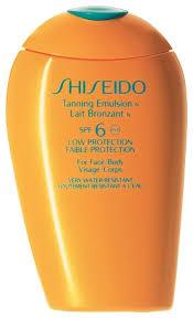 <b>Shiseido Эмульсия для загара</b> SPF 6 — купить по выгодной цене ...