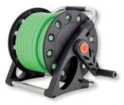 compact garden hose reel claber 8884 aquapony compact garden hose reel with 50 feet 1 2