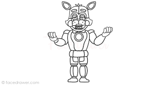 Fnaf Sister Location Printable Coloring Pages Fnaf Sister Location