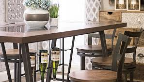 buttermilk counter height collection home zone furniture